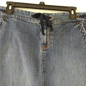 Old Navy long denim skirt